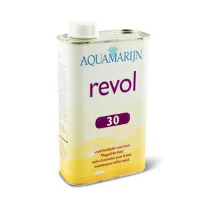 Een blik Aquamarijn Revol 30 Onderhoudsolie