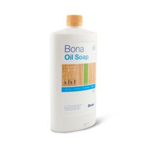 Een fles Bona Oil Soap