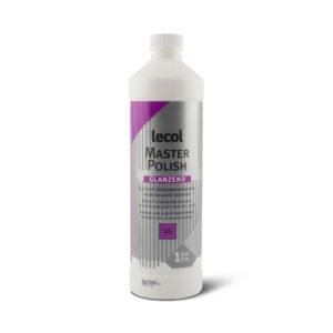 Een fles Lecol Masterpolish V6 glanzend