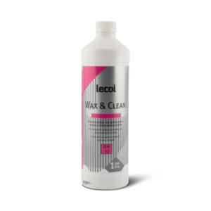 Een fles Lecol Wax en Clean OH32