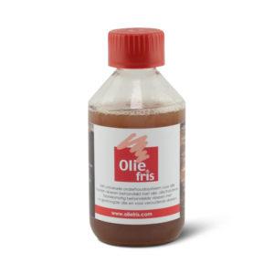 Een flesje Oliefris Onderhoudsolie naturel
