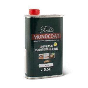Een blik met Rubio Monocoat Maintenance Oil