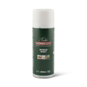Een bus Rubio Monocoat Refreshspray van 400 ml