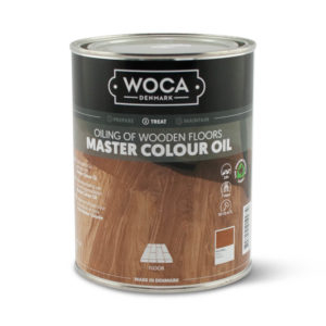 Een blik Woca Master Colour Oil