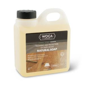 Een can Woca Natuurzeep van 1 liter