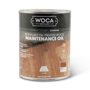 Een blik Woca Onderhoudsolie
