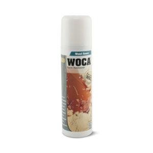 Een spuitbus Woca superontvlekker